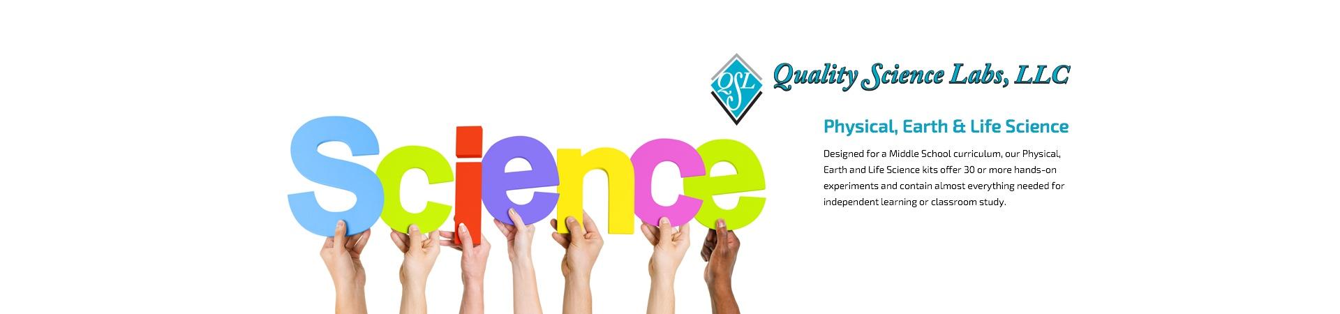 Quality Science Labs Chemistry Lab Kits