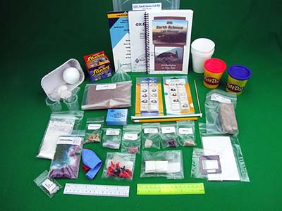 Quality Science Labs Middle School Earth Science kit