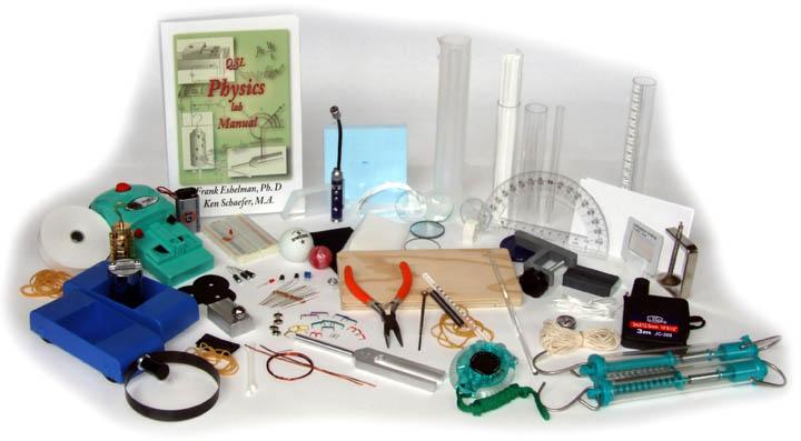 QSL Physics Lab kit for Alpha Omega