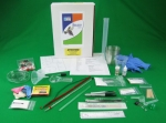 picture of the contents of the Apex Learning Biology kit KTBIO16APEX