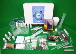 image of the Apex Learning High School Chemistry lab kit contents