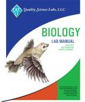 Product image of the QSL Biology NGSS lab manual